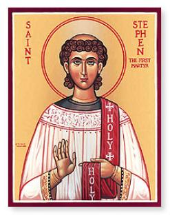 Soorp Stepanos:  First Deacon & Martyr